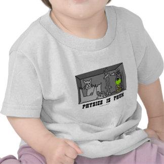 Physics Is Phun (Fun) (Schrödinger's Cat Thought) T Shirt