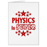 Physics is Super Greeting Card