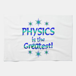Physics is the Greatest Towel