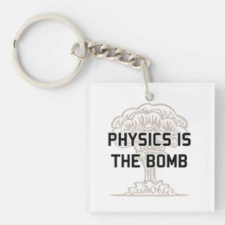 Physics is the Nuclear Bomb Acrylic Key Chain