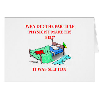 physics joke card