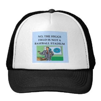 physics joke gift t-shirt trucker hat
