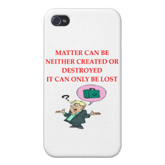 physics joke iPhone 4 case