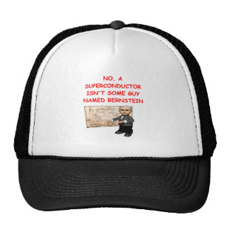 physics joke trucker hat