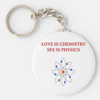physics key chain