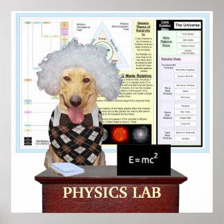 Physics Lab Poster