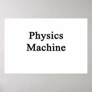 Physics Machine Poster