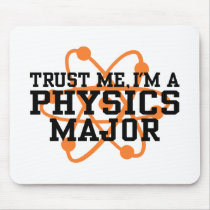 Physics Major Mouse Pad