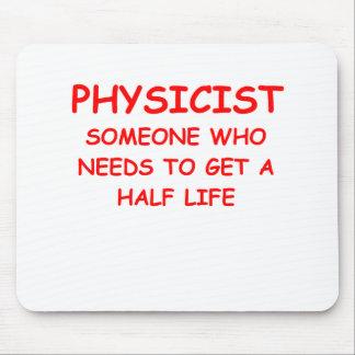 physics mouse pad