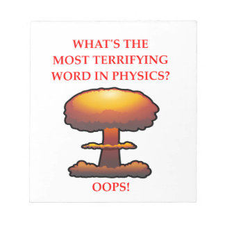 PHYSICS NOTEPAD