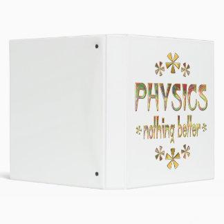 PHYSICS Nothing Better 3 Ring Binder