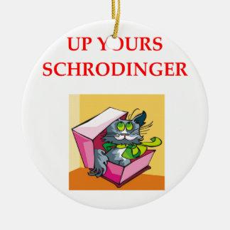 physics christmas ornament