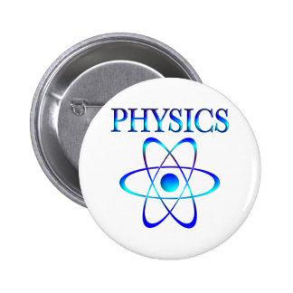 Physics Pinback Button