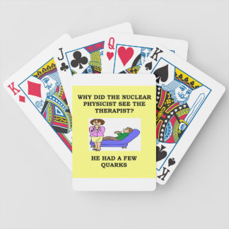 physics deck of cards