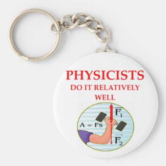 physics question keychain