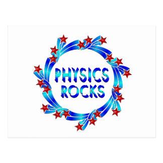 Physics Rocks Fun Postcard