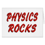 Physics ROCKS Greeting Cards