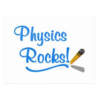 Physics Rocks Postcard
