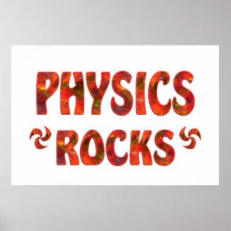 PHYSICS ROCKS POSTER