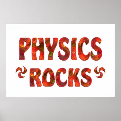 PHYSICS ROCKS PRINT