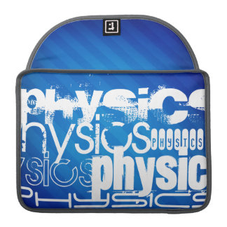 Physics; Royal Blue Stripes Sleeves For MacBook Pro