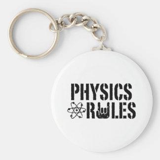 Physics Rules Key Chains