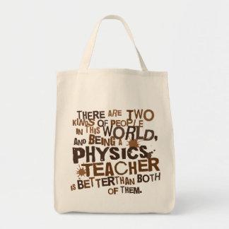 Physics Teacher Gift Tote Bags
