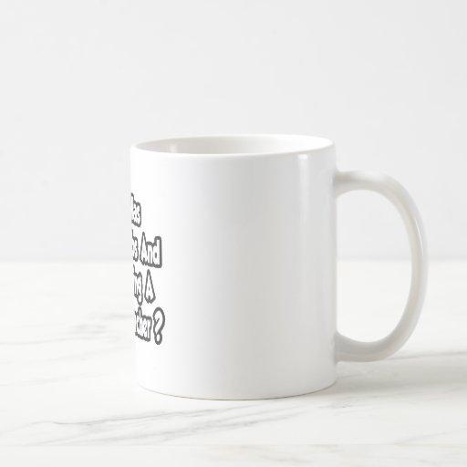 Physics Teacher Joke...Two Thumbs Mug