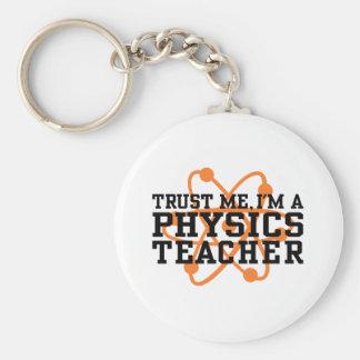 Physics Teacher Keychain