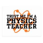 Physics Teacher Postcard