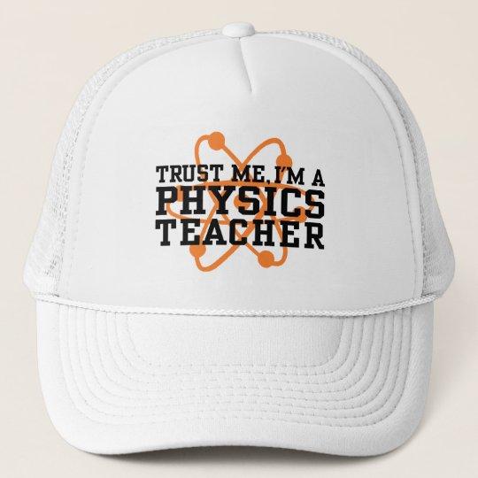Physics Teacher Trucker Hat