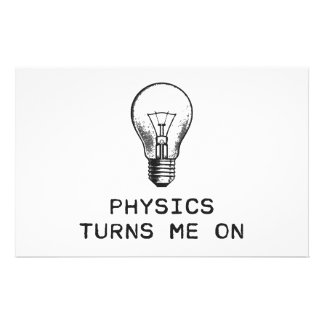 Physics Turns Me On Stationery