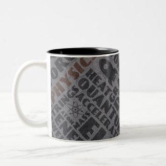 Physics Two-Tone Coffee Mug