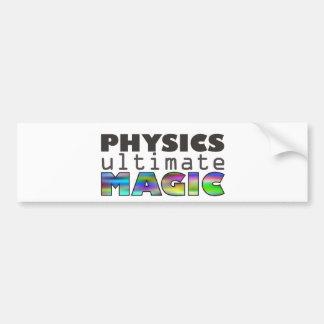 Physics - Ultimate Magic Bumper Sticker