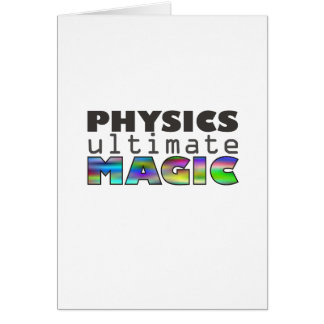 Physics - Ultimate Magic Card