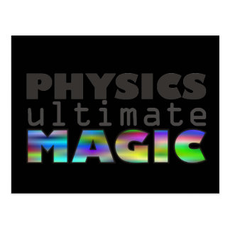 Physics - Ultimate Magic Postcard