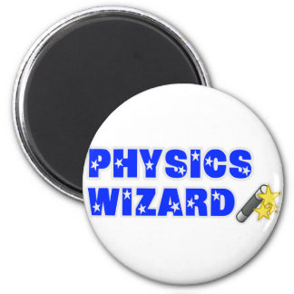 Physics Wizard Fridge Magnets