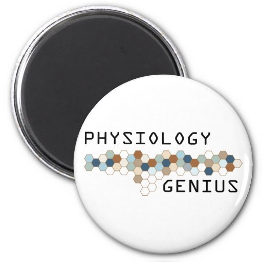 Physiology Genius 2 Inch Round Magnet
