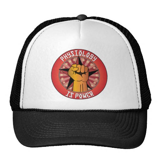 Physiology Is Power Trucker Hat