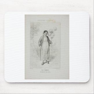 Physionomies Parisiennes: Petit Commerce. Mouse Pad