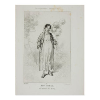 Physionomies Parisiennes: Petit Commerce. Postcard