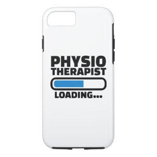Physiotherapist loading iPhone 7 case