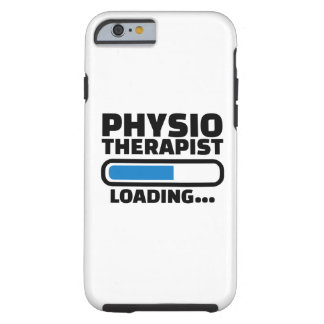 Physiotherapist loading tough iPhone 6 case