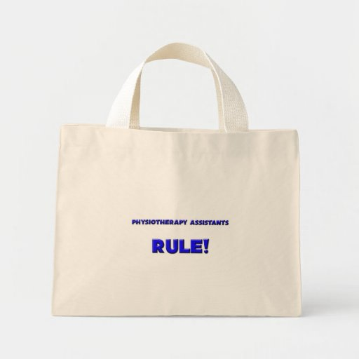Physiotherapy Assistants Rule! Mini Tote Bag