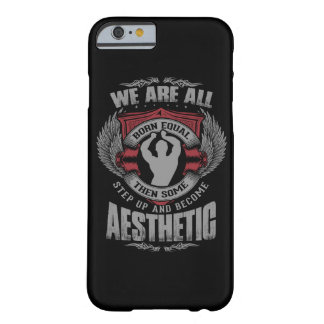 Physique Motivation - Aesthetics - Step Up - Zyzz Barely There iPhone 6 Case