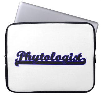 Phytologist Classic Job Design Laptop Sleeve