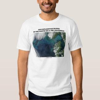 Phytoplankton Bloom North Sea and Skagerrak T Shirt
