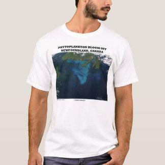 Phytoplankton Bloom Off Newfoundland, Canada T-Shirt