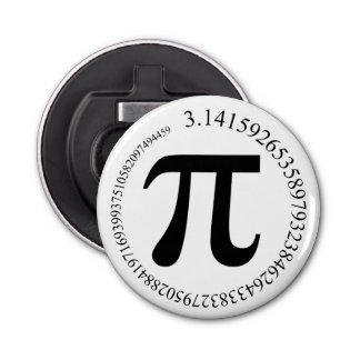 Pi (π) Day Bottle Opener