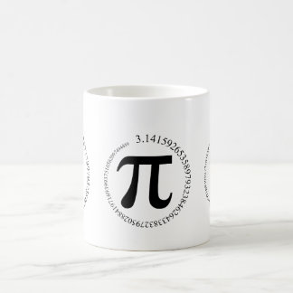 Pi (π) Day Coffee Mug